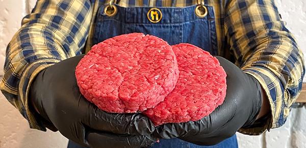 Hamburger 100% Manza Lombarda